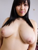 Azusa Nagasawa Asian licks balls and rubs cock between big boobs