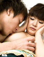 Akane Ozora Asian has peach licked in 69 and gets cum from boner
