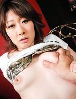 Rio Kagawa Asian licks boner before gets it deep in her poonanie